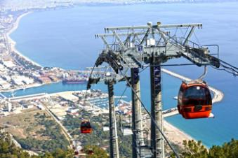 Cable car Tunektepe